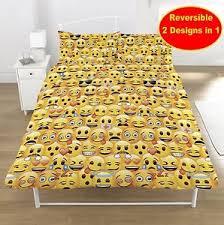 bedroom sets kids boys girls. image is loading newemojidoubleduvetquiltcoverbedroomset bedroom sets kids boys girls s