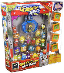 Grossery Gang Vending Machine Beauteous Grossery Gang 48 Basuritostrash Pack Vending Machine 4848 En