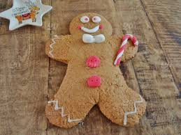 stock photo baking gingerbread man sweets homemade wooden