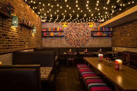 Horchata NYC Delivers Modern Mexican Food & Authentic Design | Horchata  nyc, Mexican restaurant design and Restaurant design