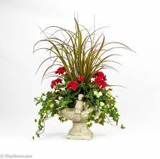 Silk Arrangements For Home Decor Home Decoration Vintage Artificial Floral Arrangements With