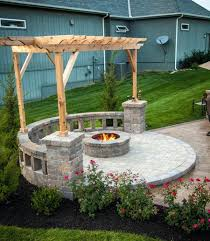 patio with fire pit and pergola. Modify Save Patio With Fire Pit And Pergola I