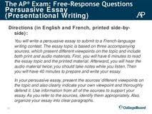 essay on my school french essay on my school