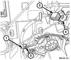 stubborn quad cab doors automotive service professional 99 Dodge Ram 1500 Wiring Harness For Door 1) wire routing tab 2) zip tie 3) door lock connector 4) bell crank 2004 Dodge Ram 1500 Wiring Diagram