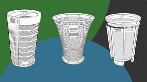 Designer Trash Receptacles See The 3 Finalists Of Nycs Betterbin Competition
