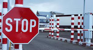 Дорога в районе КПП на границе Армении и Грузии открылась