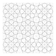rosette12 geometric design two variations on an islamic tiling pattern on stage set design template