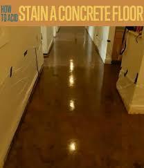 acid stained concrete floor. Perfect Floor How To Acid Stain A Concrete Floor Throughout Stained E