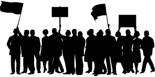 Image result for protest march graphics