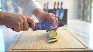 With ergonomic handles and sharp blades, these kitchen knives give you the edge you need. Chef S Vision Cosmos Knives In Action Youtube