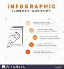 Analysis Data Financial Market Research Infographics