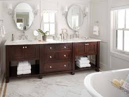 traditional double sink vanity for a contemporary bathroom