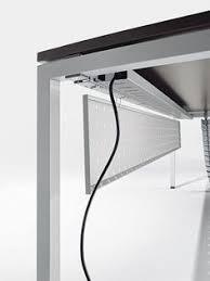 M Office Setup Table Workspace Spaces Wire Management  Cable Pc Desks Diy Desk Home Design
