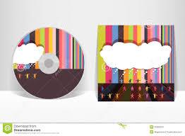cd cover design template stock photos image  cd cover design template