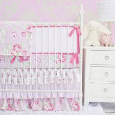 shabby chic crib bedding image