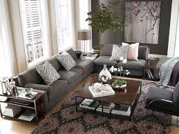modern comfort l shaped sectional by bassett furniture modern living room