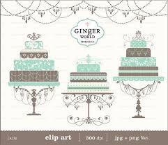 blue wedding cake clipart. Simple Wedding Gteau De Mariage Clipart Turquoise Bleu Par GingerWorld With Blue Wedding Cake Clipart
