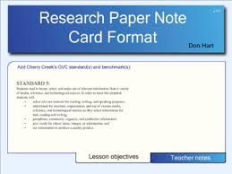 Use this sheet instead of note cards for research paper writing  There are  spaces for