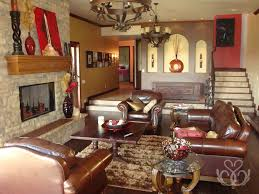 Rustic Leather Living Room Furniture Leather Living Room Ideas Luxury Living Room With Large Cream