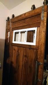 Overlapping Barn Doors Bypass Sliding Closet Door Hardware Track ...