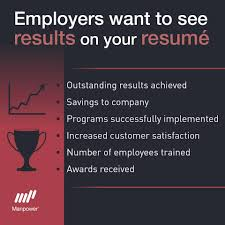 what do employers want to see on your resume results careers what do employers want to see on your resume results