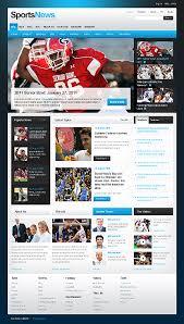 Website Template Newspaper Excellent Media Website Templates Entheosweb