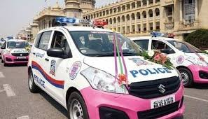 new car launches in bangaloreGot Pink 51 Pink Police Patrol Cars Launched in Bengaluru
