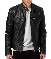 leather biker jacket design for men