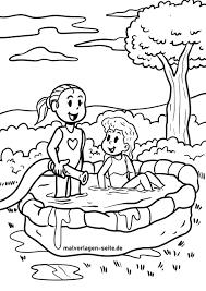 Trang màu bể bơi chèo tuyệt vời - các trang màu miễn phí
