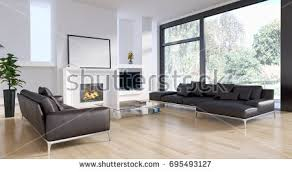 Modern bright living room Small Modern Bright Living Room With White Wall Interiors 3d Rendering Ez Canvas Modern Bright Living Room With White Wall Interiors 3d Rendering