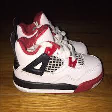 jordan shoes retro 4. ❌sold❌ jordan retro 4 fire red toddler size 5c shoes d