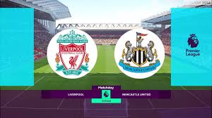 Liverpool vs Newcastle United | Premier League 2019/2020 | PES 2019  Gameplay PC - YouTube
