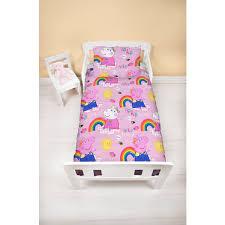 peppa pig ay 4 piece junior bedding bundle