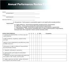 Simple Performance Appraisal Format Templates Mtm5mzy2