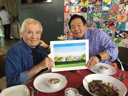 jacques pepin and ming tsai cooking show simply ming serenity landscape art