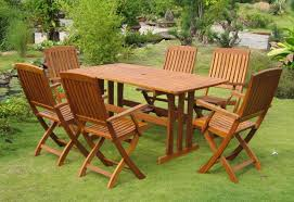 image of image of wooden outdoor chairs