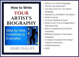 Mistakes To Avoid When Writing Your Artist S Biography