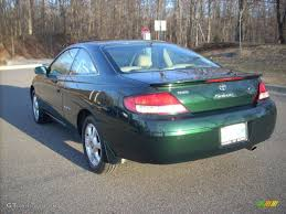 1999 Fairway Green Pearl Toyota Solara SLE V6 Coupe #4045580 Photo ...