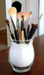 brush holder beads. glittermakeupbrushholder diy makeup brush holder salt cup beads with lid e