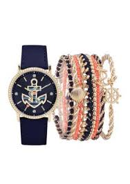 15 best ideas about anchor watch anchor bracelets american exchange navy womens navy anchor watch and bracelet set
