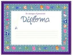 Dibujos Y Plantillas Para Imprimir Diplomas Para Imprimir