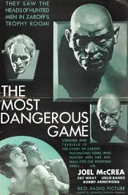 Book vs. Film: The Most Dangerous Game – The Motion Pictures
