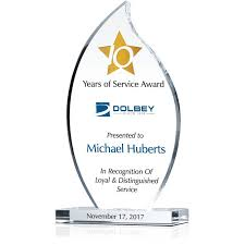 Years Of Service Award Wording 10 Years Of Service Award Sample Wording Sample By Crystal Central