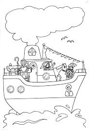 1001 Kleurplaten Sinterklaas Stoomboot Kleurplaat Pakjesboot