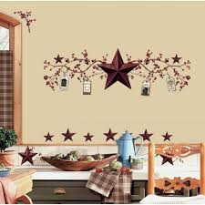 country stars and berries 40 piece l and stick wall decals rmk1276scs the home depot