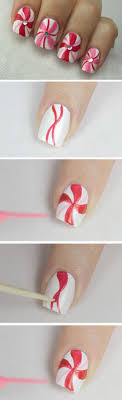 25+ trending Easy christmas nail art ideas on Pinterest | Easy ...