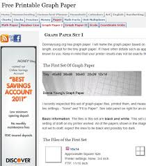 Free Graph Paper App 10 Sites To Print Different Graph Paper For Your Projects