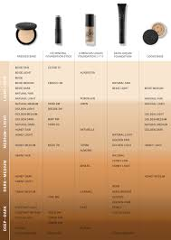 Glo Minerals Powder Foundation Color Chart Glo Skin Beauty Hd Mineral Foundation Stick