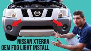 2017 Nissan Pathfinder Fog Light Installation How To Install Oem Fog Lights Into A Nissan Xterra