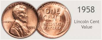 1958 Penny Value Discover Its Worth